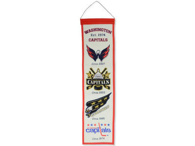 Washington Capitals Winning Streak Heritage Banner