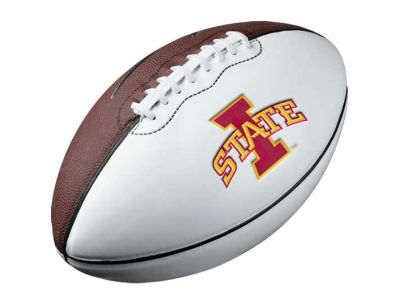 Iowa State Cyclones Nike NCAA Autograph Football