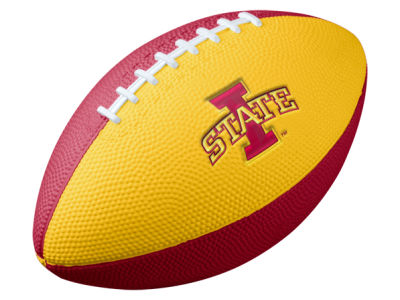 Iowa State Cyclones Nike NCAA Mini Rubber Football