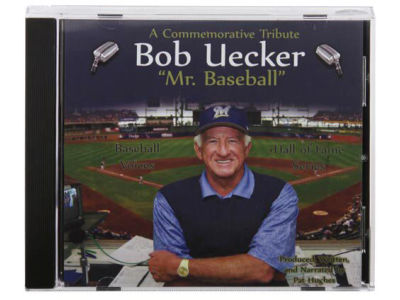 Milwaukee Brewers Bob Uecker Classic Announcer CD