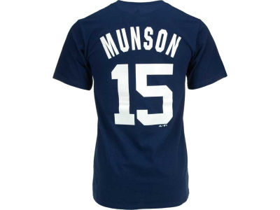 New York Yankees Thurman Munson Majestic MLB Men's Cooperstown Player T-Shirt
