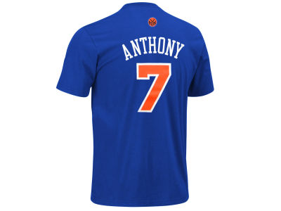 New York Knicks Carmelo Anthony adidas NBA Men's Player T-Shirt