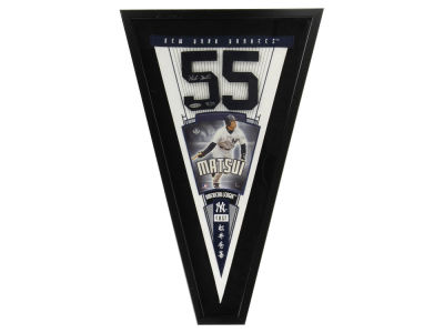 New York Yankees Framed Auto Pennant
