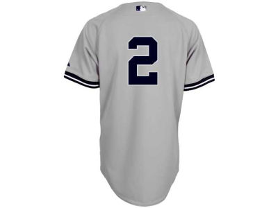 New York Yankees Derek Jeter Majestic MLB Men's On Field Player Jersey