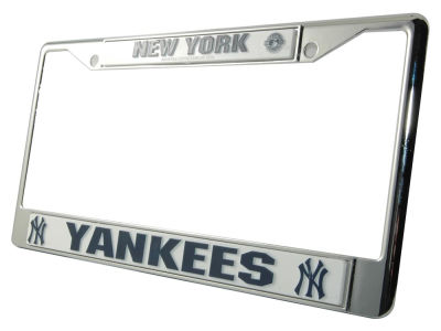 New York Yankees Chrome Frame