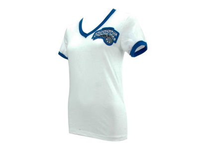 Orlando Magic NBA Womens Vneck Ringer T-Shirt