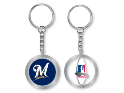 Milwaukee Brewers Spinning Keychain