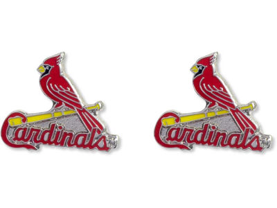 St. Louis Cardinals Logo Post Earrings