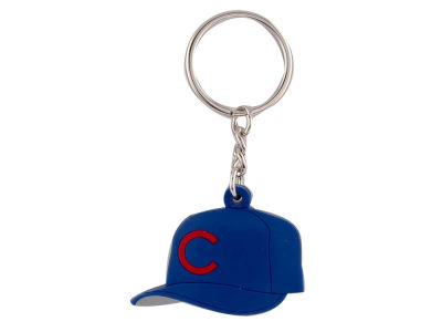 Chicago Cubs MLB Soft Rubber Cap Keychain