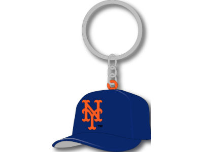 New York Mets MLB Soft Rubber Cap Keychain