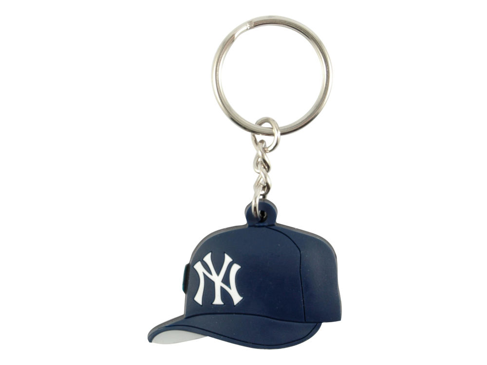 New York Yankees MLB Soft Rubber Cap Keychain  725fddd7a9f