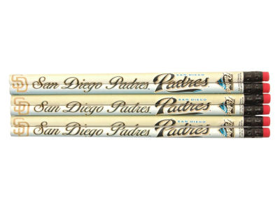San Diego Padres 6-pack Pencils