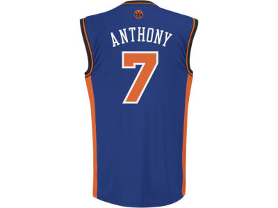 New York Knicks Carmelo Anthony NBA Kids Replica Jerseys