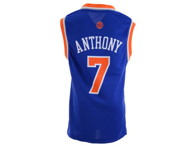 New York Knicks Carmelo Anthony Youth NBA Revolution 30 Jersey