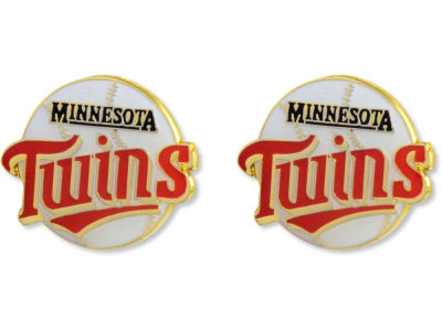 Minnesota Twins Logo Post Earrings