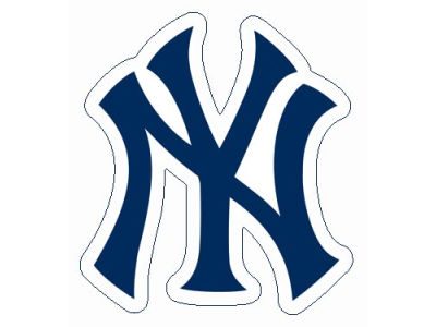 New York Yankees Die Cut Color Decal 8in X 8in