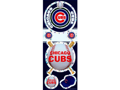 Chicago Cubs Prismatic Decal