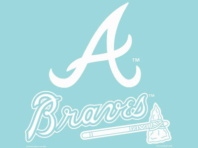 "Atlanta Braves Die Cut Decal 8""x8"""
