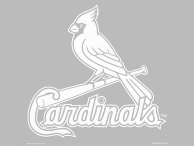 "St. Louis Cardinals Die Cut Decal 8""x8"""