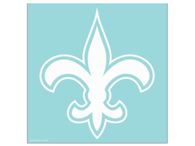 "New Orleans Saints Die Cut Decal 8""x8"""