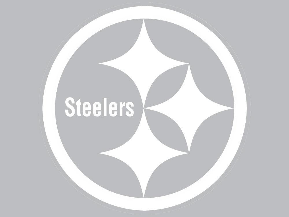 Pittsburgh Steelers Die Cut Decal 8x8 Lids