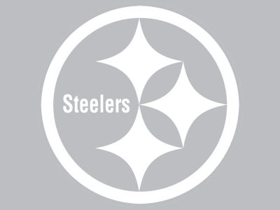 "Pittsburgh Steelers Die Cut Decal 8""x8"""