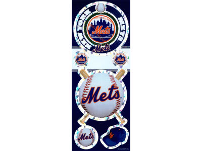 New York Mets Prismatic Decal
