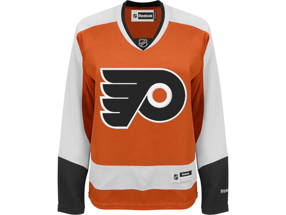 Philadelphia Flyers Reebok NHL Women s Premier Player Jersey  9321b20ed