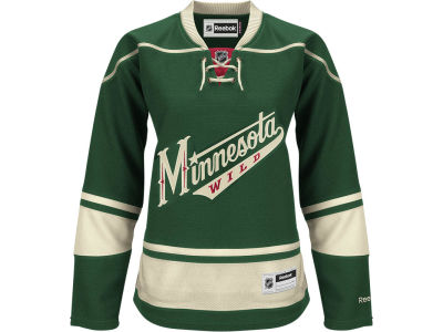 Minnesota Wild Reebok NHL Women's Premier Player Jersey