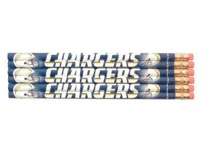 San Diego Chargers 6-pack Pencils