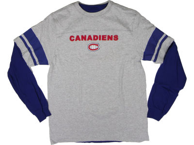 Montreal Canadiens Reebok NHL CN 3-in-1 Option T-Shirt