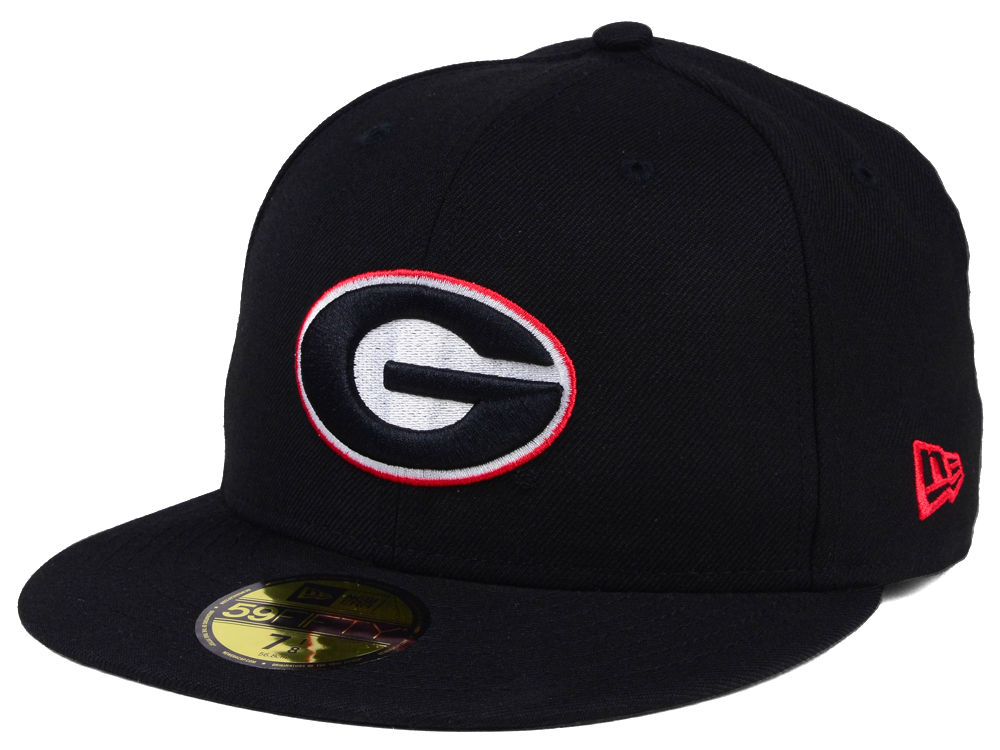 Georgia Bulldogs New Era NCAA AC 59FIFTY Cap  6a2d1cd5022