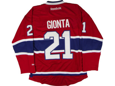 Montreal Canadiens Brian Gionta Reebok NHL Men's Premier Player Jersey