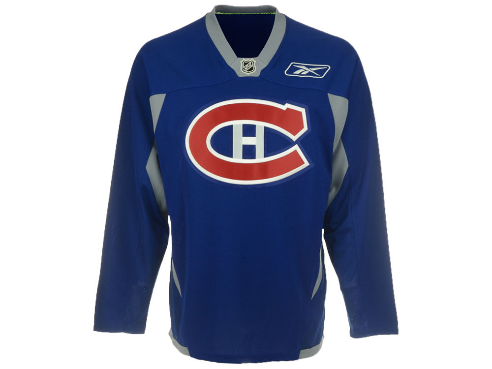 Montreal Canadiens Reebok NHL Practice Jersey  baf66e76b4a