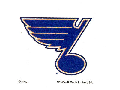 St. Louis Blues Tattoo 4-pack