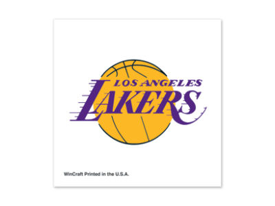 Los Angeles Lakers Tattoo 4-pack