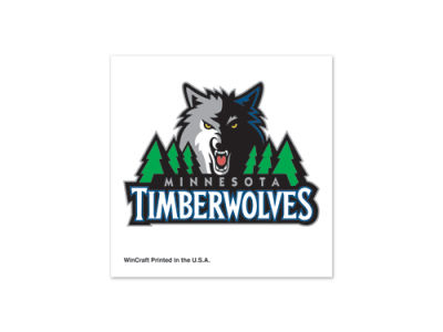 Minnesota Timberwolves Tattoo 4-pack