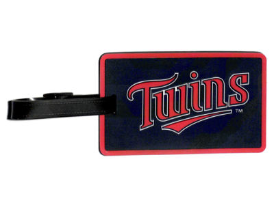 Minnesota Twins Soft Bag Tag