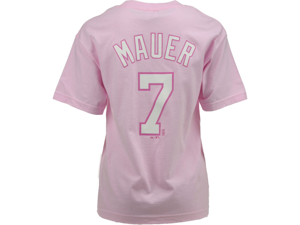 3e029f47a7e Minnesota Twins Joe Mauer Majestic MLB Youth Player T-Shirt | lids.com