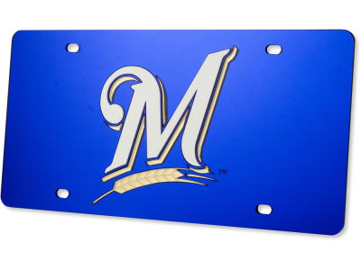 Milwaukee Brewers MLB Auto Tag Laser Cut