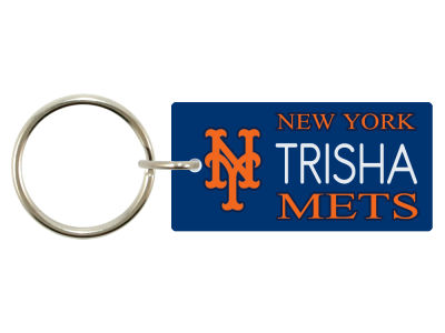 New York Mets Keytag 1 Fan