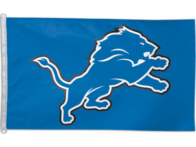 Detroit Lions 3x5ft Flag