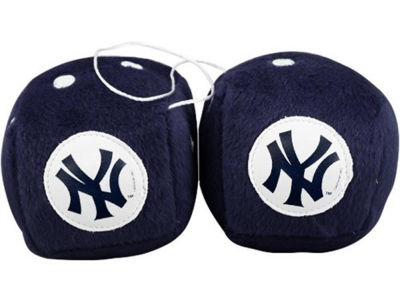 New York Yankees Fuzzy Dice