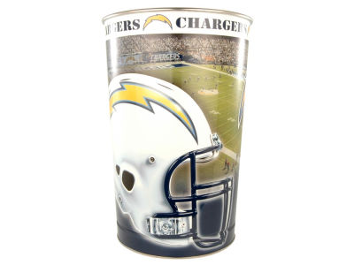 San Diego Chargers Trashcan