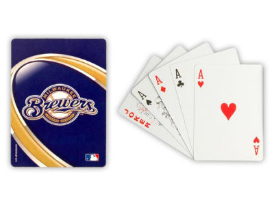 Milwaukee Brewers Playing Cards