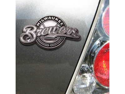 Milwaukee Brewers Auto Emblem