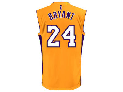 Los Angeles Lakers Kobe Bryant adidas Youth NBA Revolution 30 Jersey