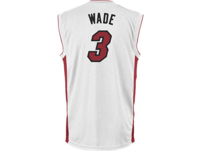 Miami Heat Dwyane Wade NBA Youth Rev 30 Replica Jersey