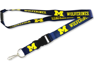 Michigan Wolverines Lanyard