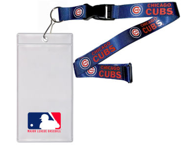 Chicago Cubs Team Lanyard With Ticket Holder